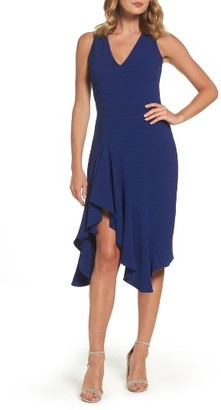 Women's Betsey Johnson Stretch Crepe A-Line Dress $138 thestylecure.com