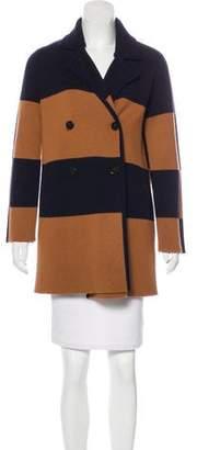 Tory Burch Merino Wool Short Coat
