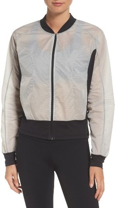 Women's Zella Bae Bomber Jacket $79 thestylecure.com