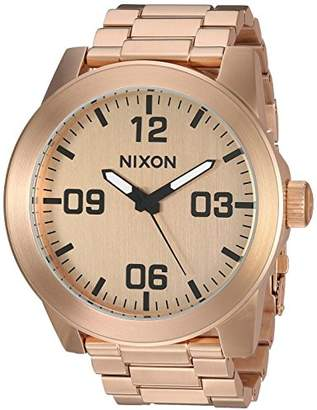 Nixon Men's 'Corporal SS' Quartz Stainless Steel Casual Watch