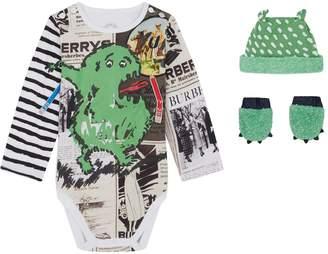 Burberry Monster Bodysuit Set