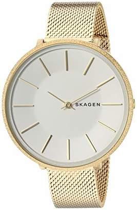 Skagen Women's 'Karolina' Quartz Stainless-Steel-Plated Casual Watch