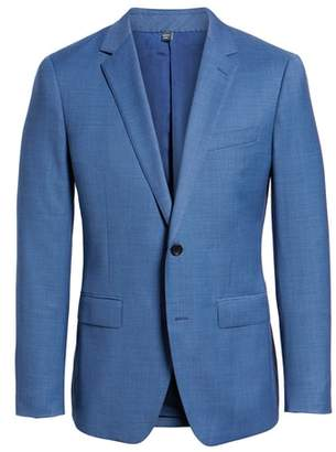 Bonobos Jetsetter Trim Fit Stretch Solid Wool Suit Jacket