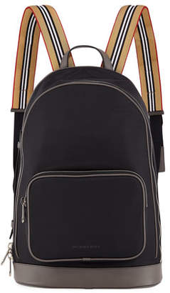 Burberry Men's Rocco Canvas Backpack