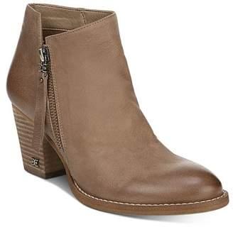 Sam Edelman Women's Macon Block Heel Ankle Booties