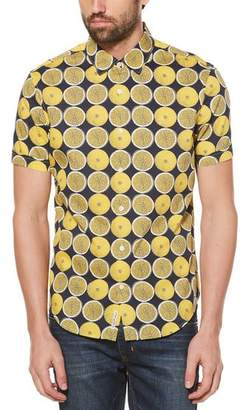 Original Penguin Lemon Poplin Shirt