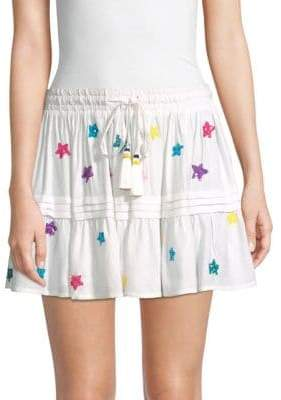 Rococo Sand Sequin Star Mini Skirt
