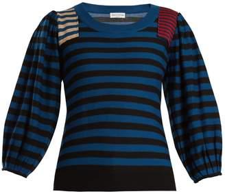 Sonia Rykiel Striped wool-knit sweater