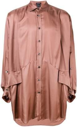 Ann Demeulemeester long-sleeve flared shirt