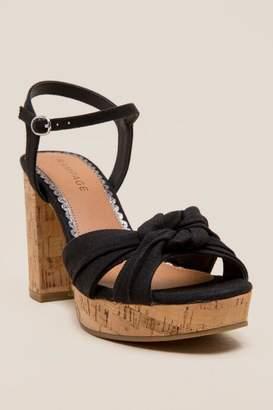 Rampage Marcia Platform Heel - Black