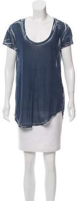 Graham & Spencer Short Sleeve Printed Top