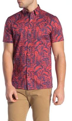 WALLIN & BROS Hawaiian Short Sleeve Performance Fit Shirt