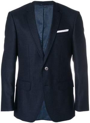 HUGO BOSS textured suit jacket