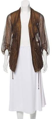 Diane von Furstenberg Semi-Sheer Casual Jacket w/ Tags