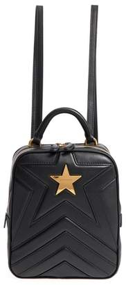 Stella McCartney Small Quilted Faux Leather Convertible Backpack