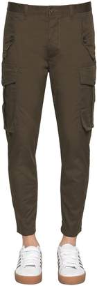 DSQUARED2 16cm Sexy Cargo Stretch Twill Pants