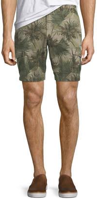 Slate & Stone Men's Palm-Leaf Cargo Pants