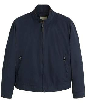 MANGO Elbow-patched cotton jacket