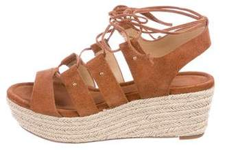 MICHAEL Michael Kors Suede Lace-Up Sandals
