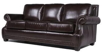 Trent Austin Design Diana Leather Sofa Trent Austin Design
