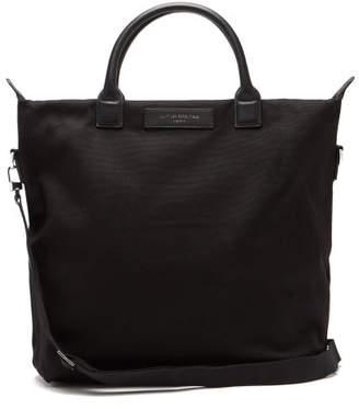 WANT Les Essentiels Ohare Organic Cotton Canvas Tote Bag - Mens - Black
