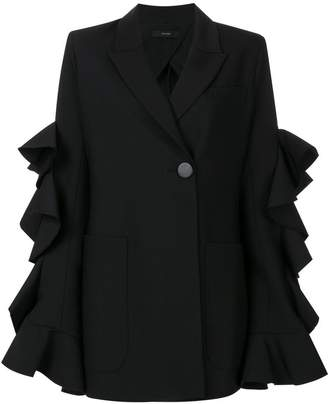 Ellery ruffled sleeve jacket