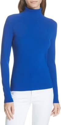 Tory Burch Roland Rib Knit Turtleneck Sweater