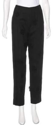 Philosophy di Alberta Ferretti High-Rise Appliqué-Accented Jeans