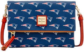Dooney & Bourke New England Patriots Foldover Crossbody Purse
