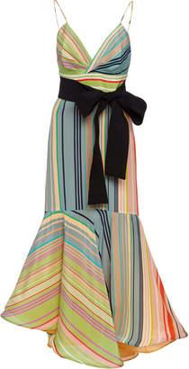 Silvia Tcherassi Bobbie Silk Midi Dress