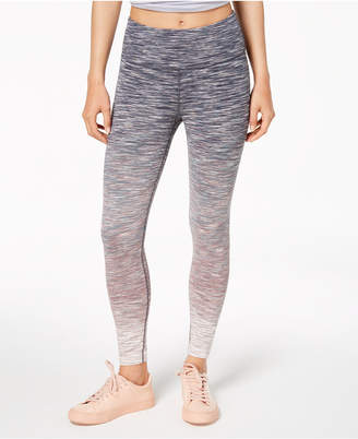 Calvin Klein Ombre Space-Dyed High-Waist Leggings