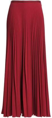 Vanessa Bruno Pleated Crepe Maxi Skirt