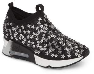 Ash Lighting Star Platform Sock Sneaker