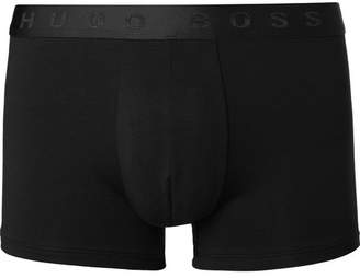 HUGO BOSS Organic Stretch-Cotton Boxer Briefs
