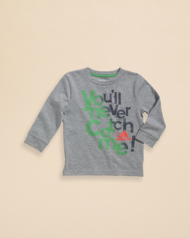 adidas Infant Boys' You'll Never Catch Me Tee - Sizes 12-24 Months