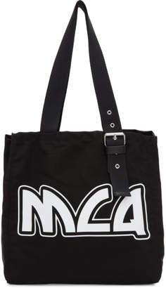 McQ Black Canvas Logo Tote