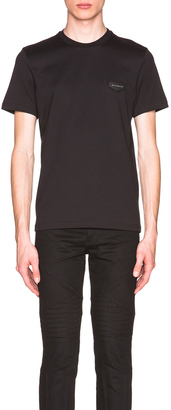 Givenchy Cuban Fit Patch Tee $440 thestylecure.com