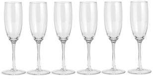 Marks and Spencer Extraordinary Value 6 pack Champagne Flutes