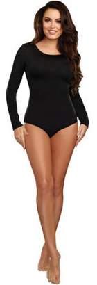 HALLOWEEN Black Adult Body Suit