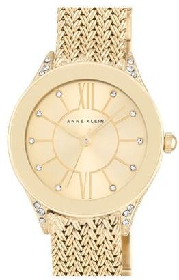 Women's Anne Klein Mesh Strap Watch, 30Mm $95 thestylecure.com