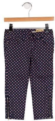 Ralph Lauren Girls' Printed Skinny Pants w/ Tags
