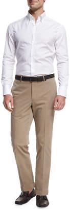 Incotex Yarn-Dyed Drill Chino Pants