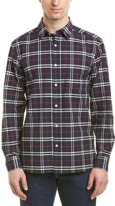 Burberry Check Stretch Woven Shirt