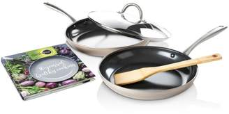 Green Pan Limited Edition 10th Anniversary 5-Piece Ceramic Nonstick Cookware Set