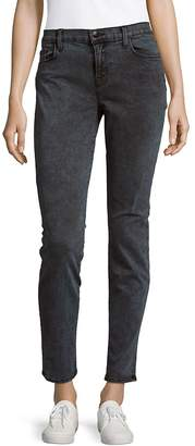 J Brand Women's Cotton-Blend Low-Rise Denim Pants