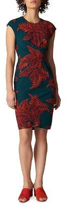 Whistles Palmyra Print Stretch-Silk Dress