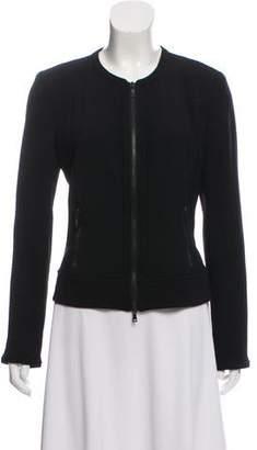 Diane von Furstenberg Wool Zip-Up Jacket