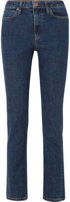Simon Miller W009 Yadkin High-rise Slim-leg Jeans - Mid denim
