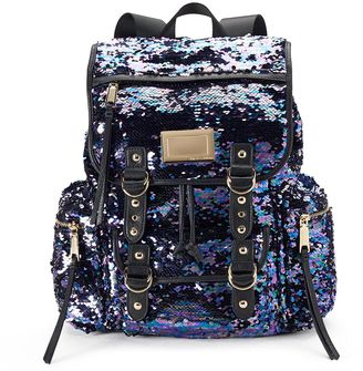 Juicy Couture Purple Sequin Backpack $99 thestylecure.com