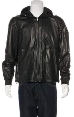 Vince Reversible Leather Jacket
